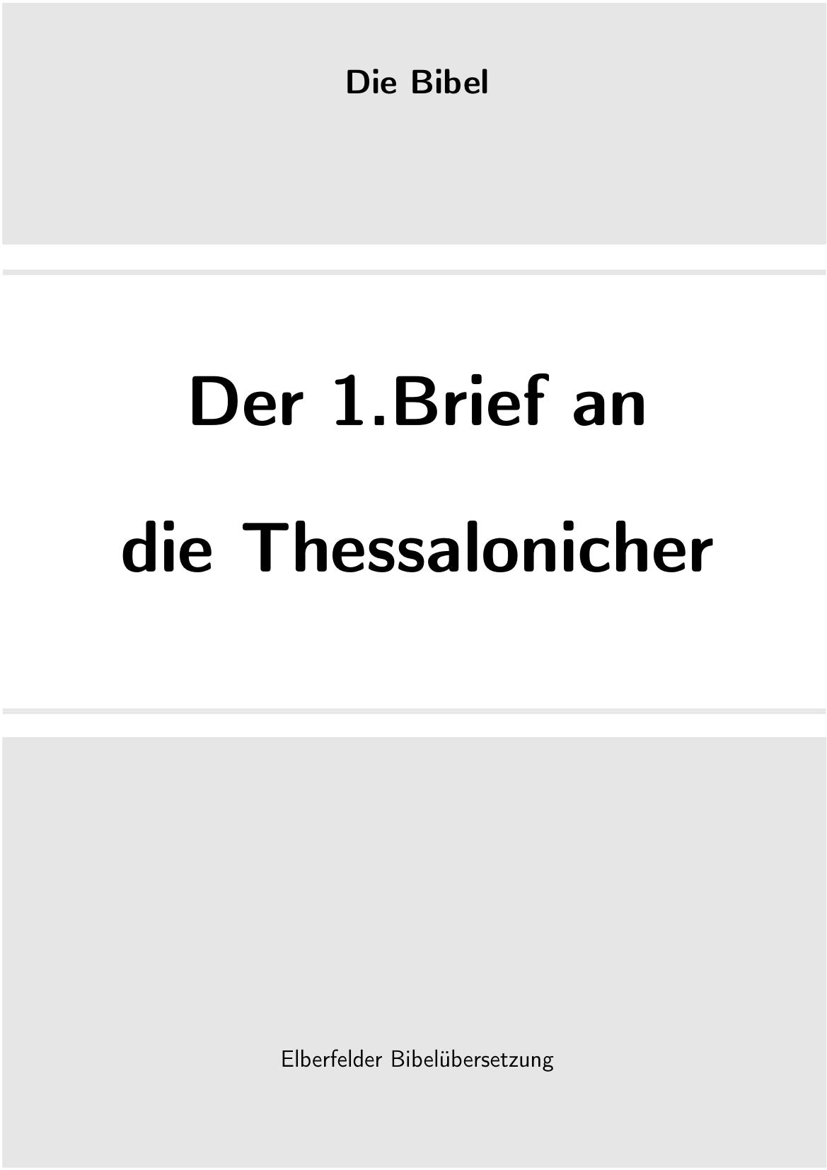 1thessalonicher