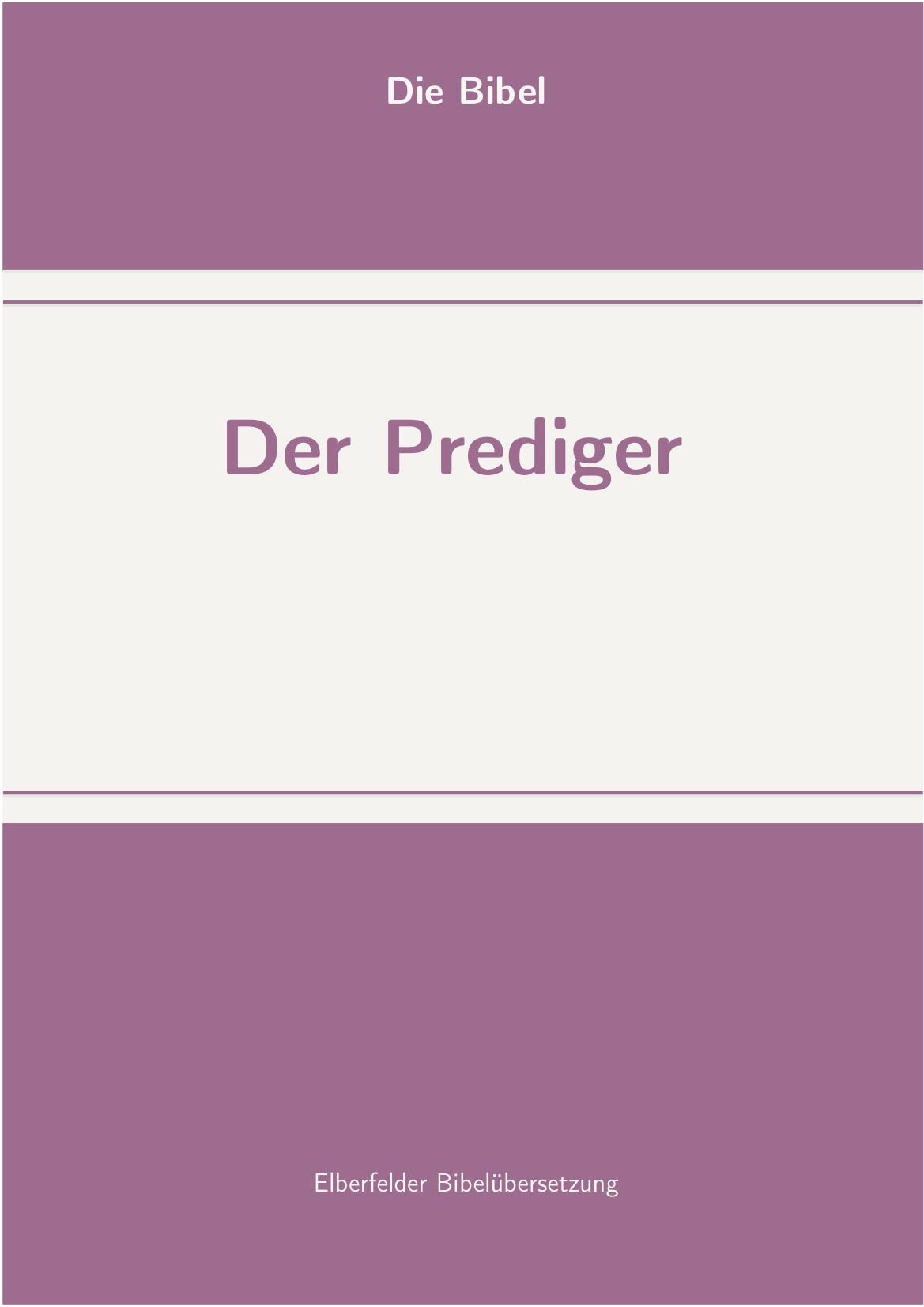 prediger