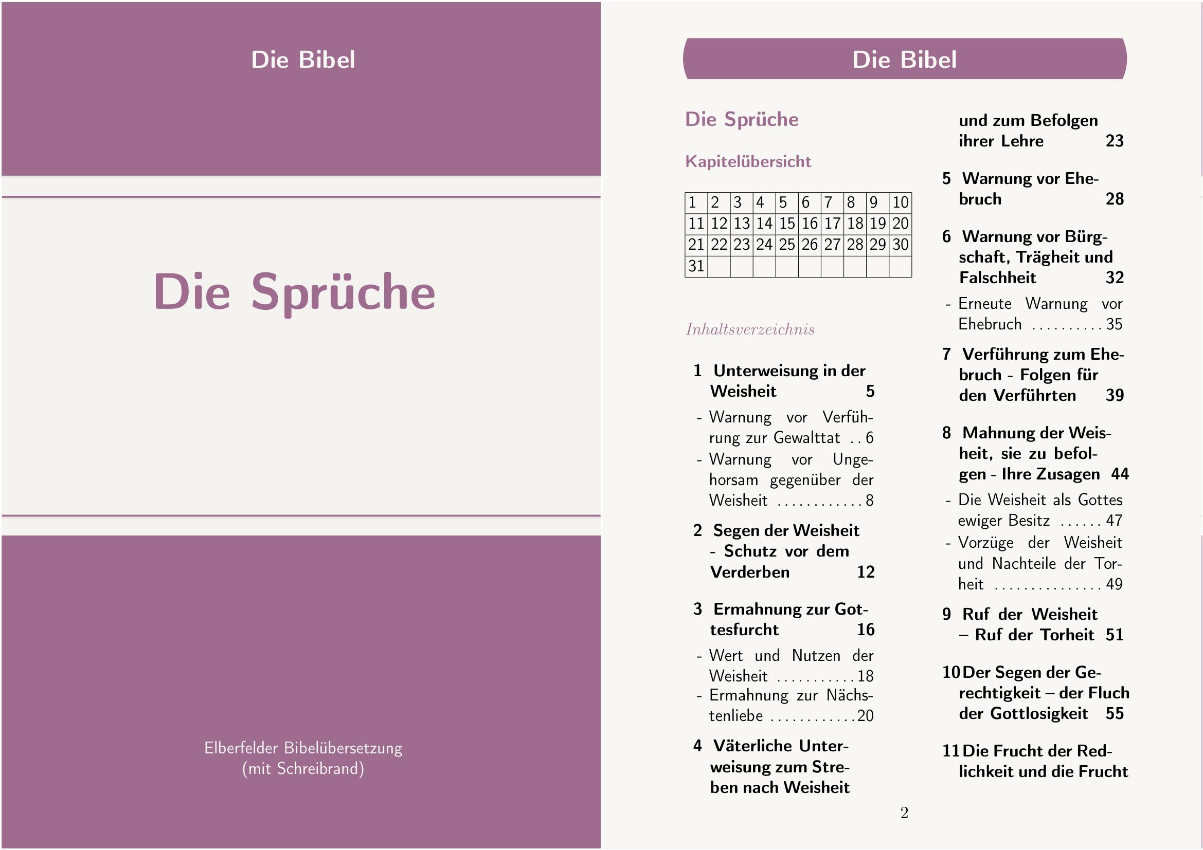 20-die sprüche | daswortgottes.de - homepage zur bibel